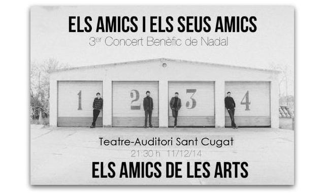 Tercera edició del concert benèfic `Els Amics de les Arts i els seus amics´