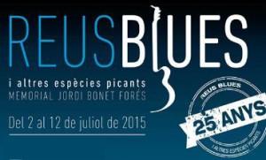 Del 2 al 12 de juliol Reus s'omplirà de Blues amb el 'Reus Blues 2015'