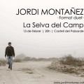 Recomanem el concert de Jordi Montañez a La Selva del Camp