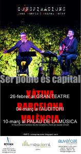 'Coinspiracions' de Joan Amèric i Andreu Valor, tres concerts que no et pots perdre