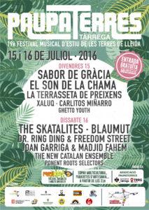 19è festival 'Paupaterres' aquest 15 i 16 de juliol a Tàrrega