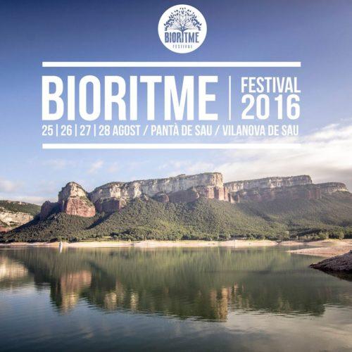 'BioRitme Festival' dies 25, 26, 27 i 28 d'agost al pantà de Sau