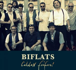 """Catalan Fanfare!"" primer disc de Biflats"