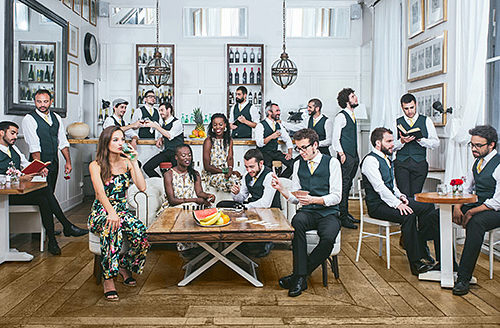 "Nou video ""The Soul Drummers"" de The Gramophone Allstars Big Band"