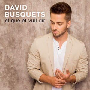 'El que et vull dir', primer disc de l'artista gironí David Busquets