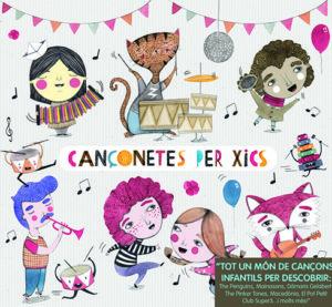'Cançonetes per xics',  tot un mon de cançons infantils per descobrir