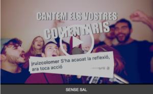 Sense Sal publica una nova cançó participativa amb els seus seguidors