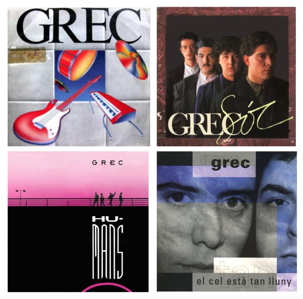 GREC-discografia