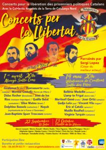 Concerts a Catalunya Nord en solidaritat amb els presos polítics catalans