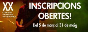 XX edició del Concurs de música de Badalona