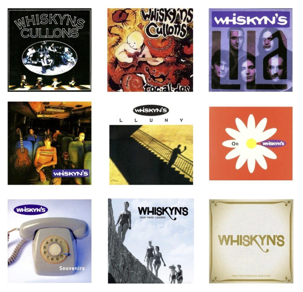 Discografia Whiskyns